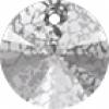 Silver Patina Crystal